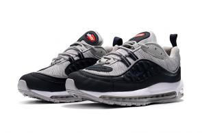 nike drops muted air max 98 gray black